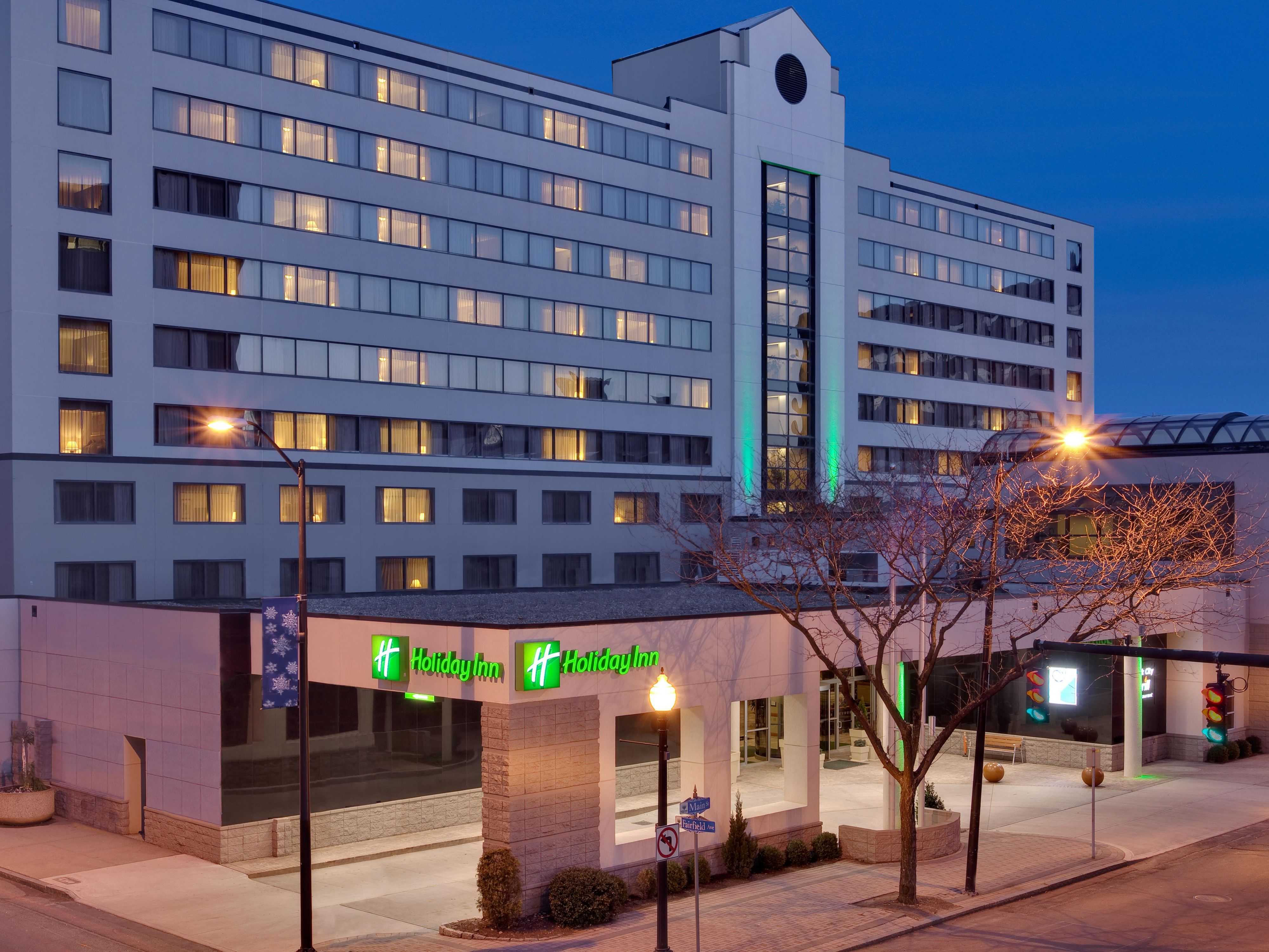Image of the Holiday Inn in Bridgeport Connecticut