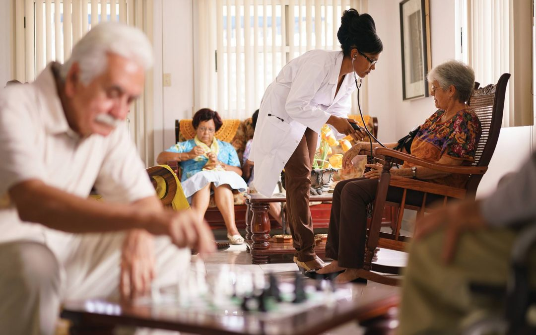 How IoT is Reinventing Senior Living Communities